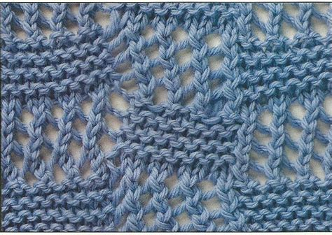 yf knitting bias lace squares learn this pretty knitting stitch