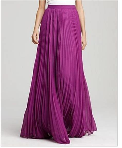 purple pleated maxi skirt i m in how to wear a