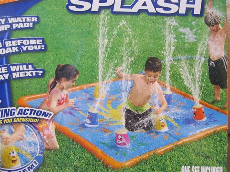 Banzai Smash N Splashter Stomp Pad Mat Outside Toy
