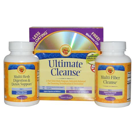 Brain Detox For Dogs by Nature S Secret Ultimate Cleanse 120 120 Kit