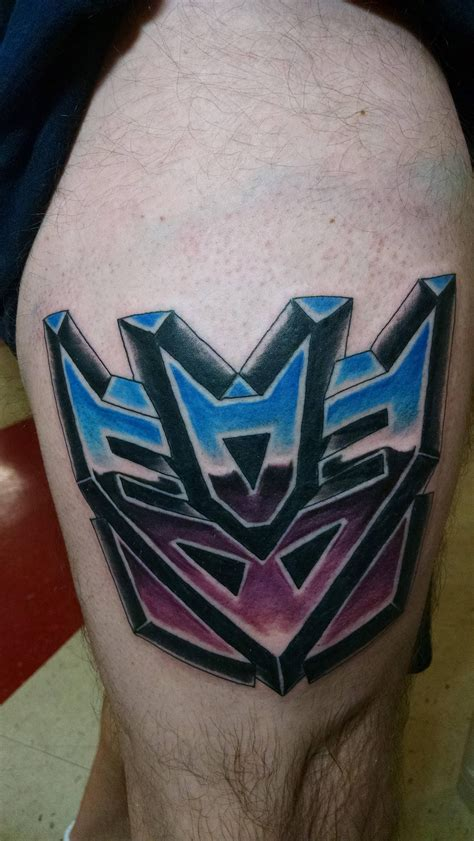 decepticon tattoo decepticons transformers projects to try