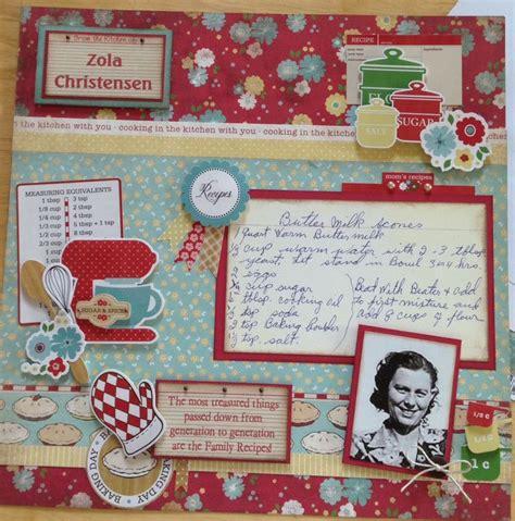 scrapbook layout recipe 940 best images about recipe scrapbook on pinterest