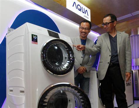 Mesin Cuci Aqua Duo Drum inovasi baru alat rumah tangga berbasis duta