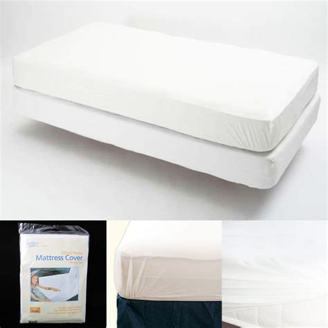 bed bug plastic cover king size fitted mattress cover vinyl waterproof bed bug