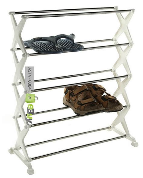 5 Shelf Shoe Rack by Buy 5 Tier Shoe Rack Shelf At Best Price In