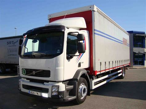 truck ta fl volvo fl6 280 curtainsider truck from spain for sale at