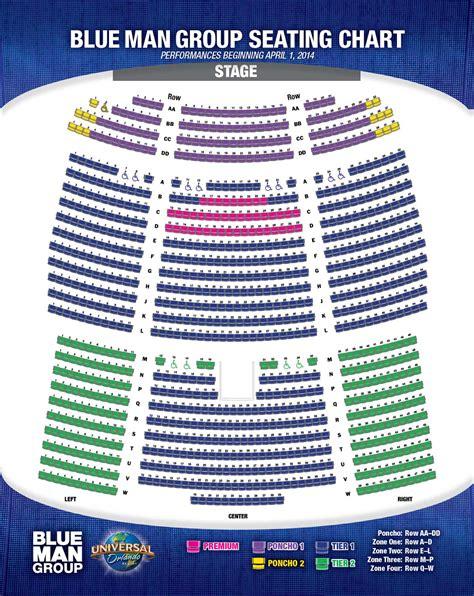 seating chart blue orlando blue orlando seating chart blue stage set