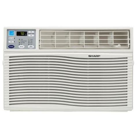 sharp comfort touch air conditioner sharp 8 000 btu window air conditioner with rest easy