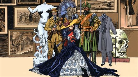 league of extraordinary gentleman fox giving alan moore s league of extraordinary gentlemen the reboot treatment nerdist