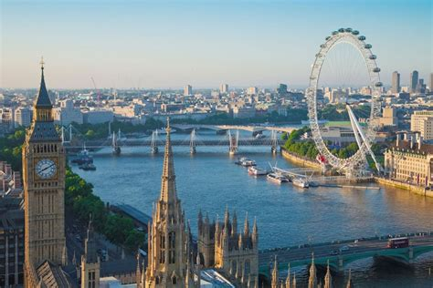 thames river pictures london eye listable