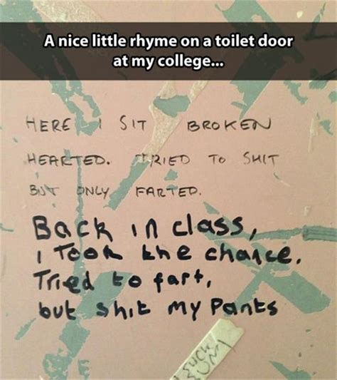 bathroom wall poetry funny pictures of the day 59 pics