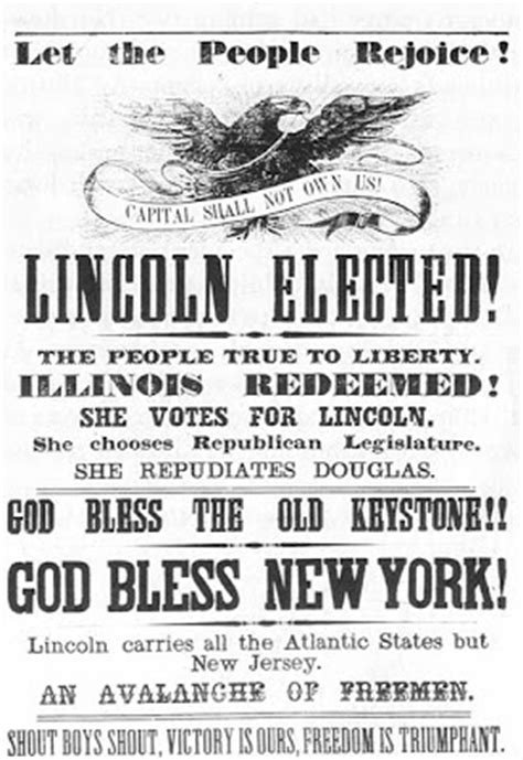 when was abraham lincoln elected as president general history photos