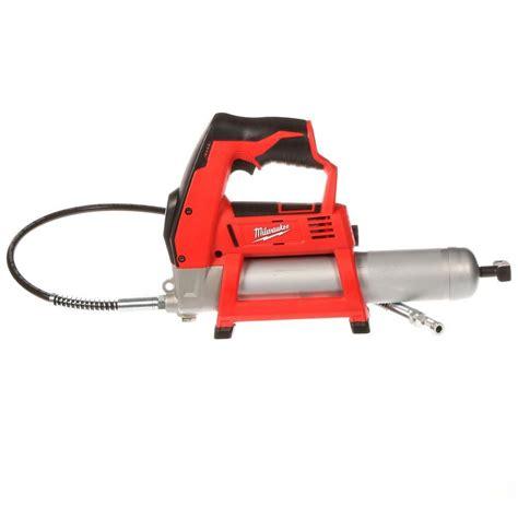 milwaukee tool   cordless lithium ion grease gun