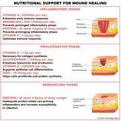nutritional support for injury and wound healing the paleo mom