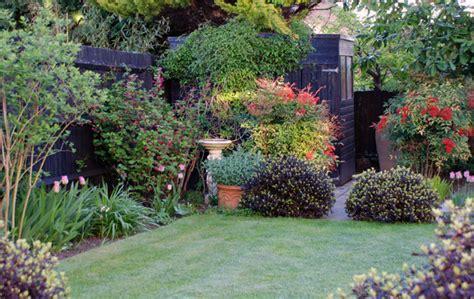 ideas for back gardens terracotta urn as focal point cox garden designs