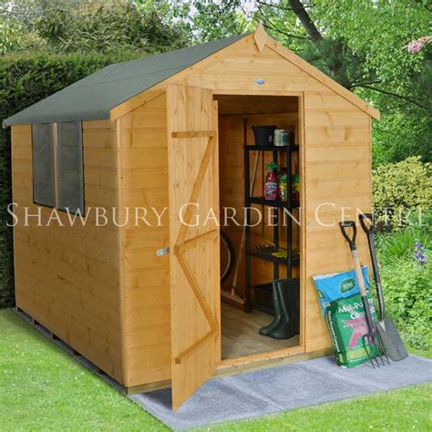 forest garden 6 x 8 shiplap apex shed