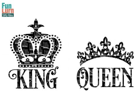 How To Spell Chandelier King And Queen Silhouette Www Pixshark Com Images