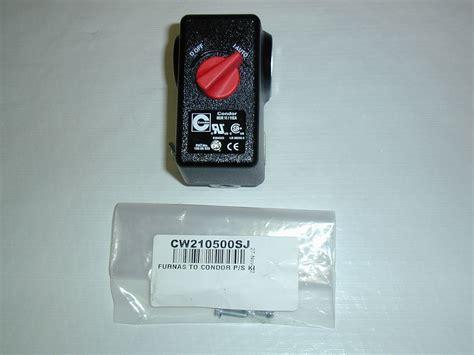 cbell hausfeld universal pressure switch cw210500sj pacific air compressors
