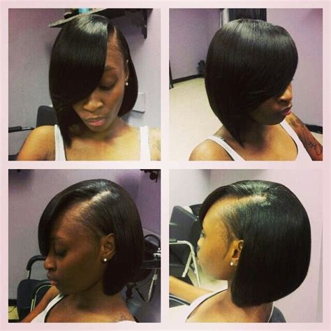 black hair razor cut bob she razor cut bob women s style pinterest bobs