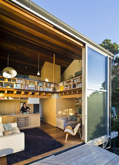 Compact Japanese Inspired House Lives Large Thanks To A Architectural Designer Wellington