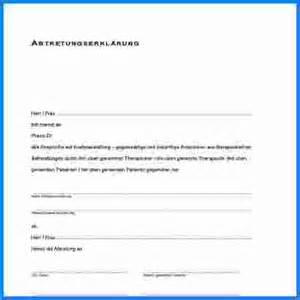 abtretungserkl 228 rung muster invitation templated