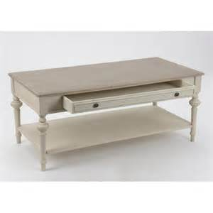 table basse salon bois blanc ezooq