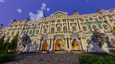 winter palace hermitage minecraft building