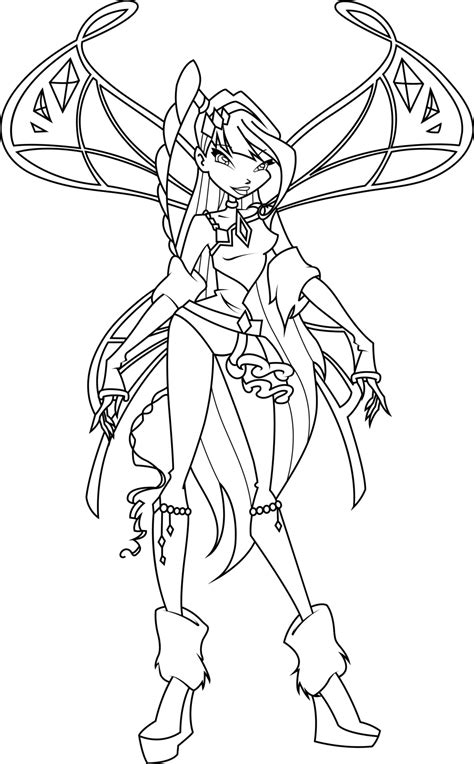 musa lovix coloring page by icantunloveyou on deviantart