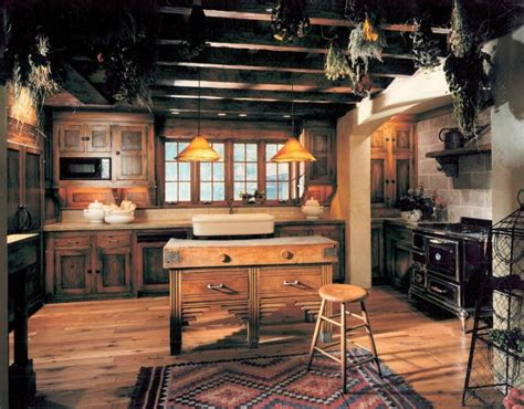 rustic country kitchen cabinets 16 ways to create a cozy rustic kitchen interior design