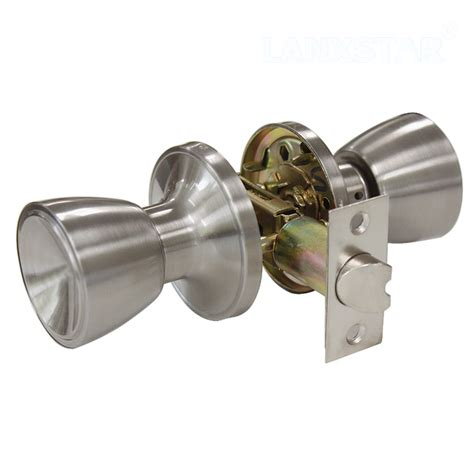 Door Knobs With Lock by New Tulip Style Passage Keyless Door Lock Stainless Steel