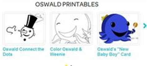 nick jr oswald coloring pages oswald on pinterest