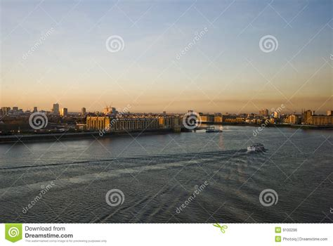 thames river cruise sunset sunset over river thames royalty free stock image image