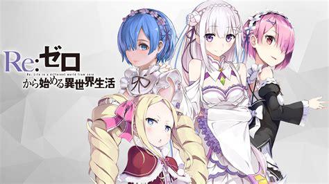 Poster Rezero Kara Hajimeru Isekai Seikatsu 2 re zero kara hajimeru isekai seikatsu animehd47
