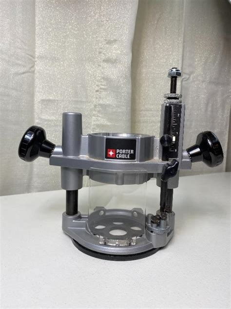 lot    porter cable router plunge base