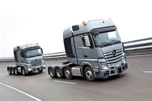 Mercedes Truck And Mercedes Actros Slt And Arocs Slt Can Haul Anything