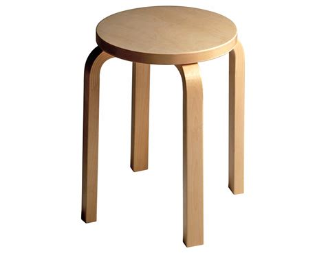 Chair Stools by Alvar Aalto Stool E60 Hivemodern