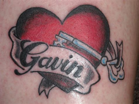 name heart tattoo 78 best tattoos design ideas mens craze