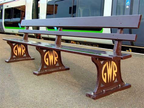 gwr benches panoramio photo of old gwr railway station seat photo on