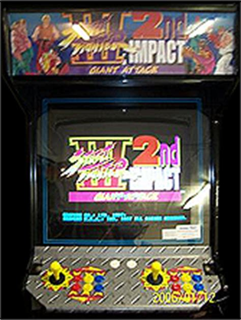 fighter 3 cabinet fighter iii 2nd impact attack usa 970930 rom