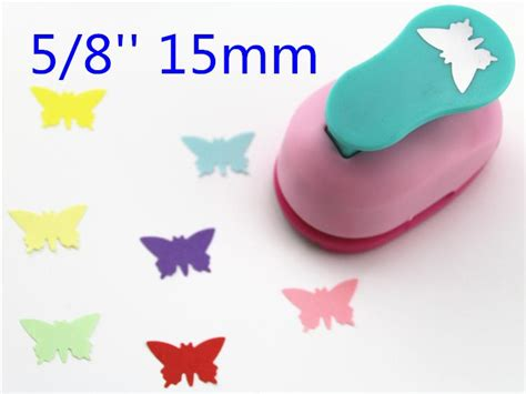 2017 wholesale 15mm punch butterfly paper punches for