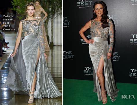Catwalk To Carpet Catherine Zeta Jones by Catherine Zeta Jones In Zuhair Murad Couture The Best