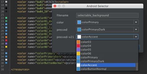 android selector android selector jetbrains plugin repository