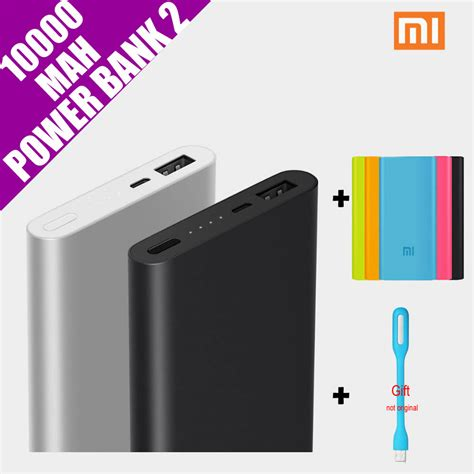 Power Bank One original xiaomi mi power bank 2 10000mah external battery