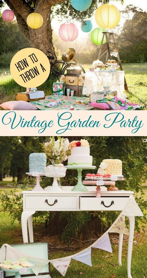 vintage backyard party 25 outdoor party ideas for summer you need for creating