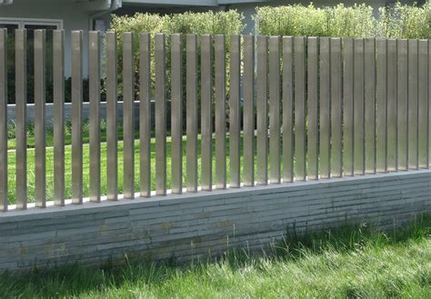 modern fence modern fence design landscape contemporary with
