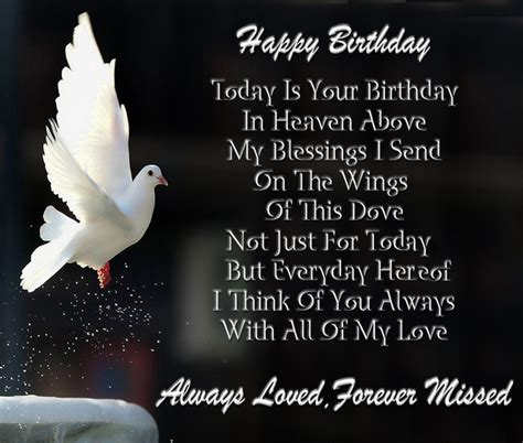 Wishing A Happy Birthday To Someone In Heaven Happy Birthday In Heaven Wishes Quotes Images