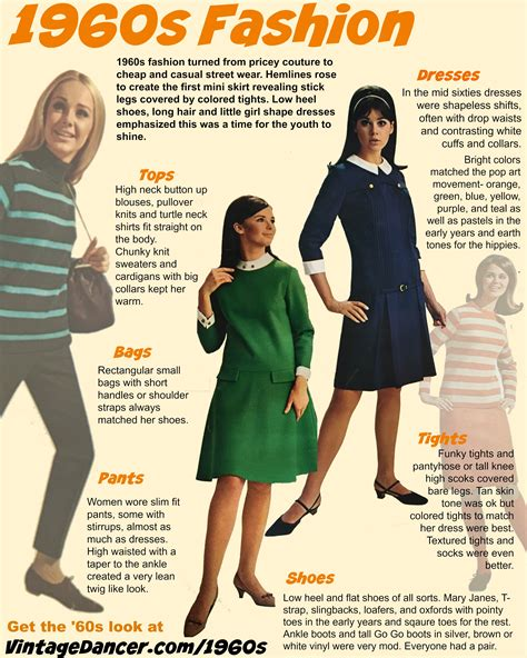 1960s fun facts 1960s fashion what did women wear