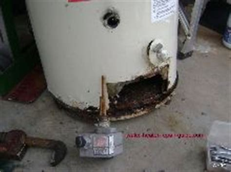 water heater leaking from bottom rust leaking hot water heater how to find it and fix it