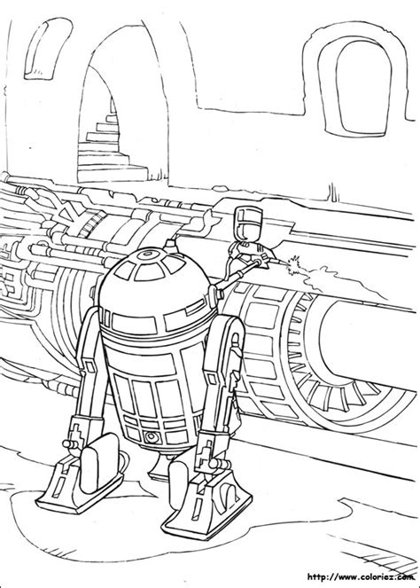 free coloring pages of r2 c3po