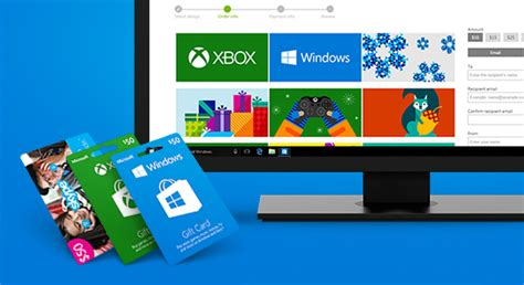 Gift Card Microsoft - microsoft gift cards xbox gift cards windows gift cards